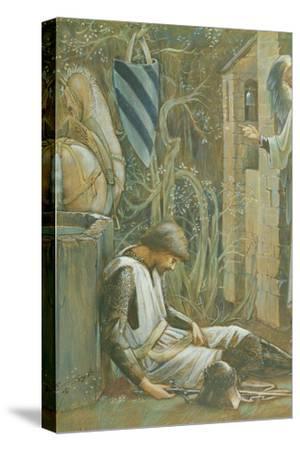The Failure of Sir Lancelot-Edward Burne-Jones-Stretched Canvas Print