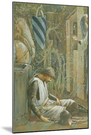 The Failure of Sir Lancelot-Edward Burne-Jones-Mounted Giclee Print