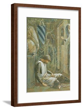 The Failure of Sir Lancelot-Edward Burne-Jones-Framed Giclee Print