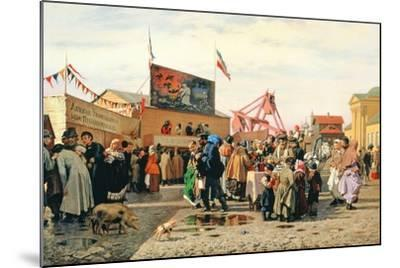 Stalls for Easter Week in Tula, 1868-Andrei Andreevich Popov-Mounted Giclee Print