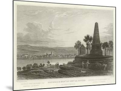 Neuweid and Monument of General La Hoche-William Tombleson-Mounted Giclee Print