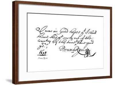 Brune Ryves--Framed Giclee Print