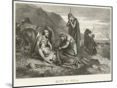 Death of Totila--Mounted Giclee Print