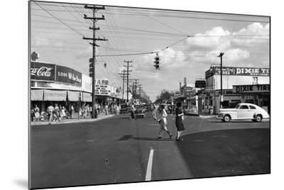Allapattah Boulevard--Mounted Photographic Print