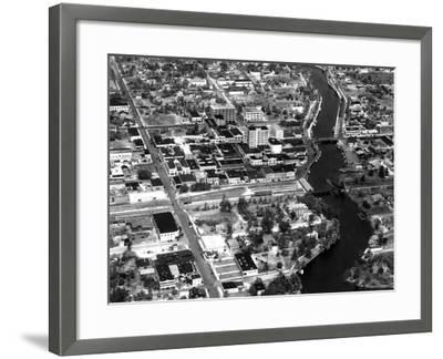 Fort Lauderdale Aerial View, 1932--Framed Photographic Print