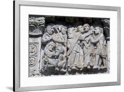 Bas-Relief of Maestro Guglielmo--Framed Giclee Print