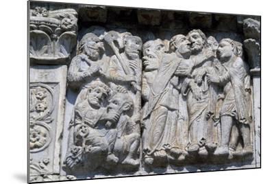 Bas-Relief of Maestro Guglielmo--Mounted Giclee Print
