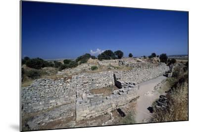 Ruins of Walls of Troy VI, Troy--Mounted Photographic Print