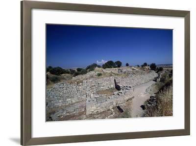 Ruins of Walls of Troy VI, Troy--Framed Photographic Print