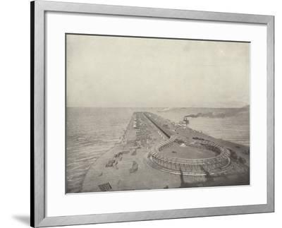 The Movable Sidewalk--Framed Photographic Print
