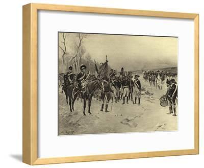 Battle of Ballinamuck, 1798-Henri-Louis Dupray-Framed Giclee Print
