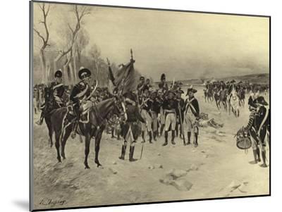 Battle of Ballinamuck, 1798-Henri-Louis Dupray-Mounted Giclee Print
