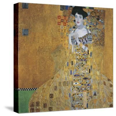 Portrait of Adele Bloch-Bauer I, 1907-Gustav Klimt-Stretched Canvas Print