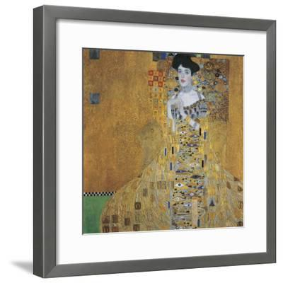 Portrait of Adele Bloch-Bauer I, 1907-Gustav Klimt-Framed Giclee Print