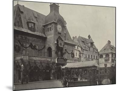 Town Hall in Old Vienna--Mounted Photographic Print