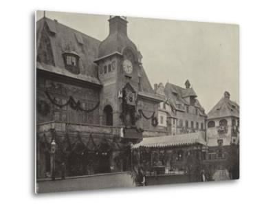 Town Hall in Old Vienna--Metal Print