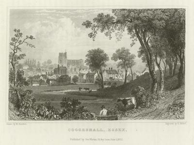 Coggeshall, Essex-William Henry Bartlett-Framed Giclee Print