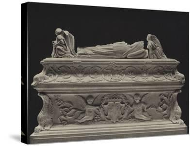 Tomb of the Children of Charles VIII--Stretched Canvas Print