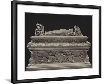 Tomb of the Children of Charles VIII--Framed Photographic Print