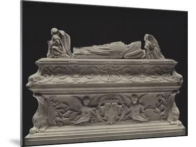 Tomb of the Children of Charles VIII--Mounted Photographic Print