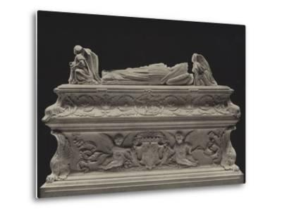 Tomb of the Children of Charles VIII--Metal Print