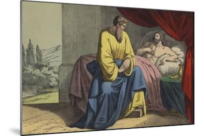 Isaiah and Hezekiah--Mounted Giclee Print