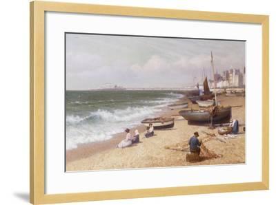 Brighton Beach-Alexander Young-Framed Giclee Print