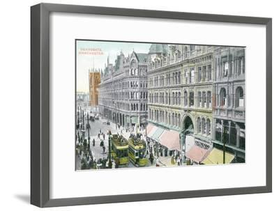 Deansgate, Manchester--Framed Giclee Print
