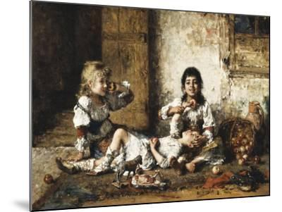 Happy Moments-Alexei Alexevich Harlamoff-Mounted Giclee Print