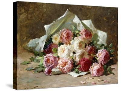 A Bouquet of Roses-Abbott Fuller Graves-Stretched Canvas Print