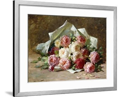 A Bouquet of Roses-Abbott Fuller Graves-Framed Giclee Print