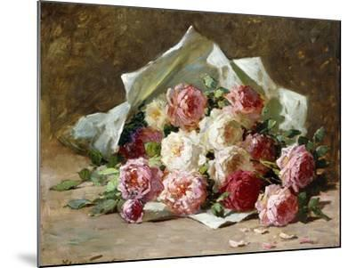A Bouquet of Roses-Abbott Fuller Graves-Mounted Giclee Print