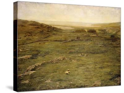 Paradise Valley-John La Farge-Stretched Canvas Print
