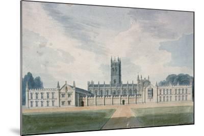 Magdalen College, Oxford, 1804-John Buckler-Mounted Giclee Print