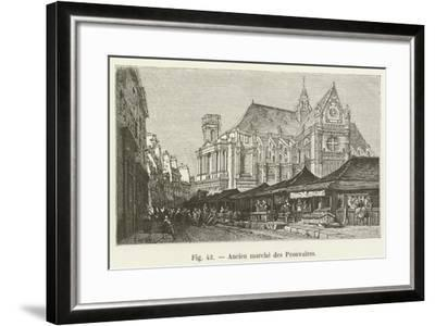 Ancien Marche Des Prouvaires--Framed Giclee Print