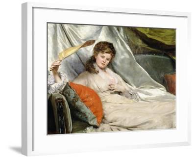 A Relaxing Moment-Eduardo-leon Garrido-Framed Giclee Print
