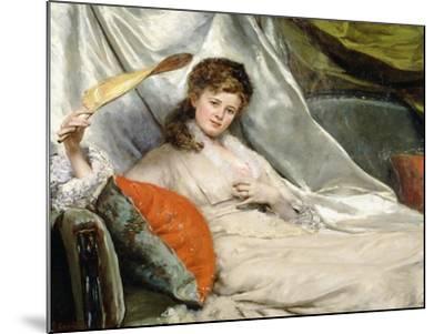 A Relaxing Moment-Eduardo-leon Garrido-Mounted Giclee Print
