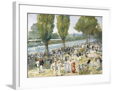 Henley, 1934-Sir John Lavery-Framed Giclee Print