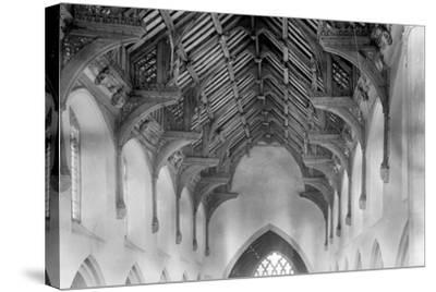 Vaulted Roof, St. Agnes Church, Cawston-Frederick Henry Evans-Stretched Canvas Print