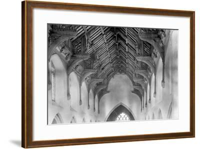 Vaulted Roof, St. Agnes Church, Cawston-Frederick Henry Evans-Framed Photographic Print