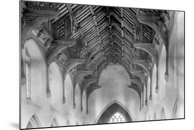 Vaulted Roof, St. Agnes Church, Cawston-Frederick Henry Evans-Mounted Photographic Print