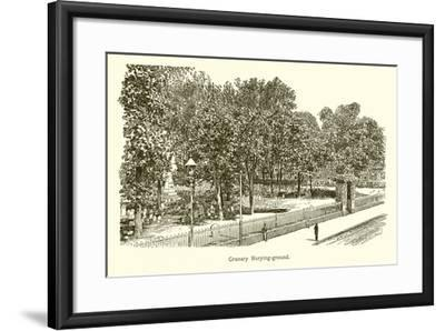 Granary Burying-Ground--Framed Giclee Print