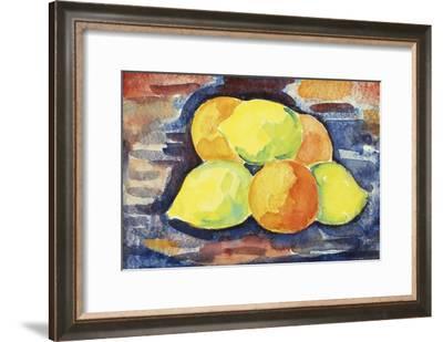 Fruit Still Life-Marsden Hartley-Framed Giclee Print