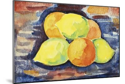 Fruit Still Life-Marsden Hartley-Mounted Giclee Print