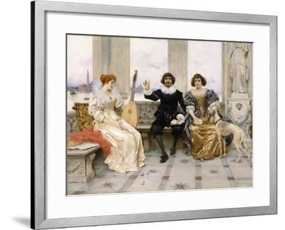 The Recital-Federigo Andreotti-Framed Giclee Print