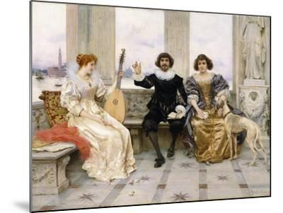 The Recital-Federigo Andreotti-Mounted Giclee Print