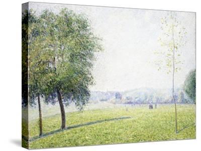 Primrose Hill, Regent's Park, 1892-Camille Pissarro-Stretched Canvas Print