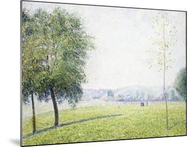 Primrose Hill, Regent's Park, 1892-Camille Pissarro-Mounted Giclee Print
