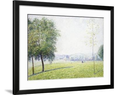 Primrose Hill, Regent's Park, 1892-Camille Pissarro-Framed Giclee Print