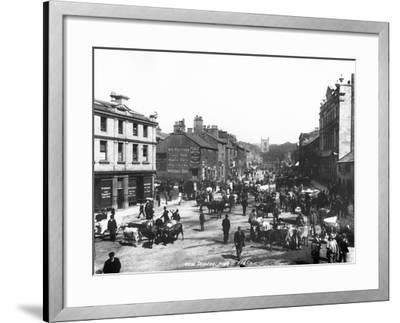 Skipton High Street, C.1900--Framed Photographic Print